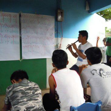Musik- und Kunstunterricht im Norden Nicaraguas